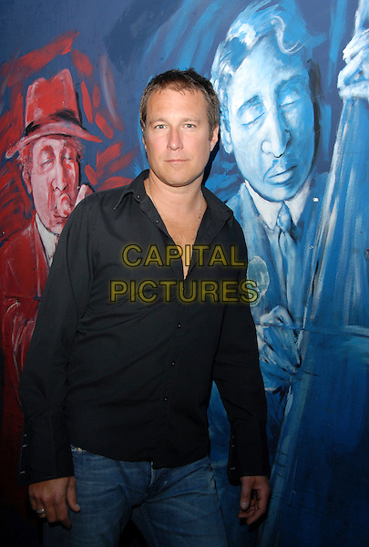JOHN CORBETT -THE  JOHN CORBETT BAND.Backstage at HOB Anaheim in Anaheim, California, USA. March 15th, 2007.half length black shirt .CAP/DVS.©Debbie VanStory/Capital Pictures
