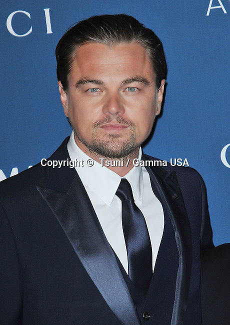 Leonardo DiCaprio arriving at LACMA Art + Film Gala 2013 at the LACMA Museum in Los Angeles.