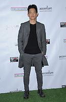 23 February 2017 - Santa Monica, California - John Cho.  2017 Oscar Wilde Awards held at Bad Robot. Photo Credit: Birdie Thompson/AdMedia