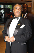Reverend Al Sharpton, a candidate for the 2004 Democratic Presidential nomination arrives at the 2003 White House Correspondents Dinner, Washington, DC, April 26, 2003..Credit: Ron Sachs / CNP..(RESTRICTION: NO New York or New Jersey Newspapers or newspapers within a 75 mile radius of New York City)
