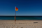 The flags at Coogee Beach on the southern end of Coogee Beach on Monday, 27th of June 2016, Sydney, Australia (Photo: Steve Christo)
