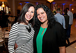 WATERBURY,  CT-032317JS14 --Megan DiMartino of Orange and Jessica Osorio of Waterbury at the 10th annual &quot;Wishes from Waterbury&quot; Wine and Beer Tasting fundraiser at LaBella Vista in Waterbury. The fundraiser benefits the Make-A-Wish Foundation of Connecticut.  <br /> Jim Shannon Republican-American