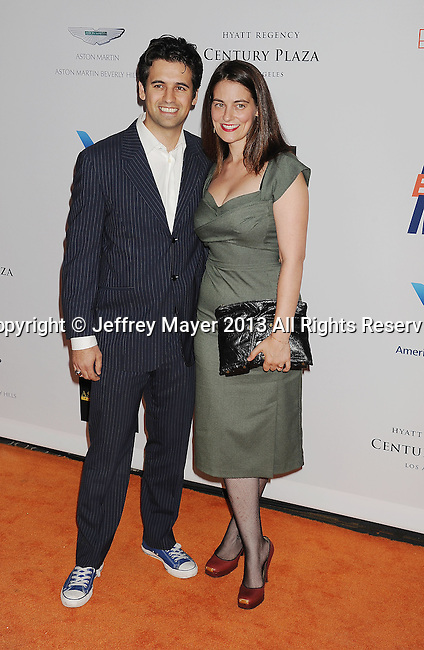 CENTURY CITY, CA- MAY 03: Actors Greg Rikaart and Clementine Ford  arrive at the 20th Annual Race To Erase MS Gala 'Love To Erase MS' at the Hyatt Regency Century Plaza on May 3, 2013 in Century City, California.