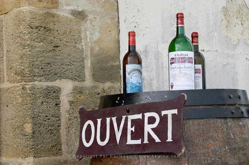 Chateau la Grace Dieu les Menuts, Saint Emilion, Bordeaux, France