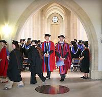 Leaving the Graduation Ceremony, University of Surrey.
