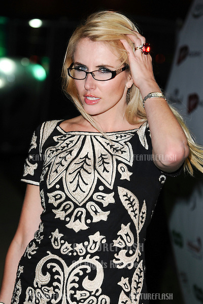 Nancy Sorrell arriving for the Spectacle Wearer of the Year 2011 Awards, London. 16/11/2011  Picture by: Steve Vas / Featureflash