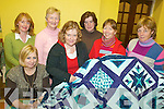 QUILTS: Members of the Keel Arts & Crafts Group with one of their patchwork quilts, front l-r: Karen Farrell, Nikki Foley, Sharon Hodgkiss, Romi Buhles. Back l-r: Sarah Noonan, Breda Browne, Bridget Crowley.   Copyright Kerry's Eye 2008