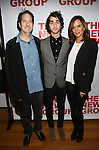 "Michael Wolff, Alex Wolff and Polly Draper attend the Opening Night of The New Group World Premiere of ""All The Fine Boys"" at the The Green Fig Urban Eatery on March 1, 2017 in New York City."