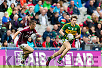 Niall Collins Kerry in action against Ryan Forde Galway in the All Ireland Minor Football Final in Croke Park on Sunday.