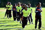 Thailand vs Nepal during their ICC 2016 Women's World Cup Asia Qualifier on 10 October 2016 at the Tin Kwong Road Cricket Recreation Ground in Hong Kong, China. Photo by Marcio Machado / Power Sport Images