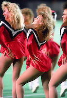 Ottawa Rough Riders Cheerleaders 1989. Photo F. Scott Grant