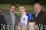 Barry John Walsh Kerins O'Rahillys   Captain in the Kerry Club U-21 Championship Final at Fitzgerald Stadium on Sunday.