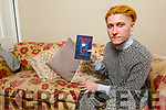 "Kelby Guilfoyle author of his new book called ""Poppy"" pictured at his home in Oakpark on Saturday."
