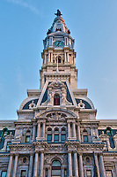 City Hall, Clock Tower, Philadelphia, PA
