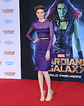 Karen Gillan<br />  attends The Marvel Studios World Premiere GUARDIANS OF THE GALAXY held at The Dolby Theatre in Hollywood, California on July 21,2014                                                                               &copy; 2014Hollywood Press Agency