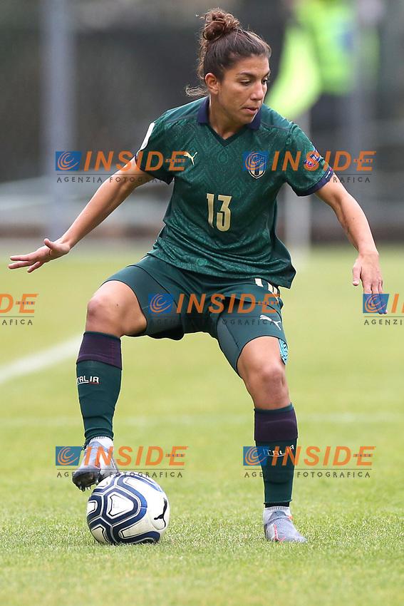 Elisa Bartoli of Italy<br /> Castel di Sangro 12-11-2019 Stadio Teofolo Patini <br /> Football UEFA Women's EURO 2021 <br /> Qualifying round - Group B <br /> Italy - Malta<br /> Photo Cesare Purini / Insidefoto