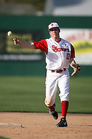 February 21, 2009:  Second baseman Matt Wessinger (0) of St. John's University during the Big East-Big Ten Challenge at Jack Russell Stadium in Clearwater, FL.  Photo by:  Mike Janes/Four Seam Images
