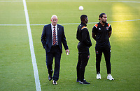Blackpool manager Simon Grayson inspects the pitch at the Keepmoat Stadium<br /> <br /> Photographer Alex Dodd/CameraSport<br /> <br /> The EFL Sky Bet League One - Doncaster Rovers v Blackpool - Tuesday September 17th 2019 - Keepmoat Stadium - Doncaster<br /> <br /> World Copyright © 2019 CameraSport. All rights reserved. 43 Linden Ave. Countesthorpe. Leicester. England. LE8 5PG - Tel: +44 (0) 116 277 4147 - admin@camerasport.com - www.camerasport.com