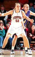 STANFORD, CA - FEBRUARY 26: Cori Enghusen of the Stanford Cardinal during Stanford's 78-73 win over the Washington Huskies on February 26, 2000 at Maples Pavilion in Stanford, California.