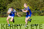 Jack Kennelly((Shannon Rangers) in action against Patrick Clifford (Kenmare District) played in Templenoe on Sunday
