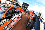 Jan 7, 2017; 5:02:58 PM; QUEEN CREEK, AZ., USA; 11th Annual Keyser Manufacturing Wild West Shootout at Arizona Speedway presented by O'Reilly Auto Parts. Mandatory Credit: (thesportswire.net)
