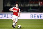 Nederland, Alkmaar, 5 maart 2009..KNVB Beker.Seizoen 2008-2009.AZ-NAC (1-2).Ragnar Klavan van AZ in actie met de bal