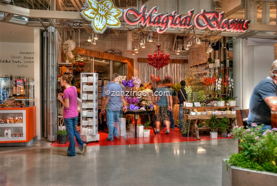 Magical Blooms,  The Market, Food Court, Santa Monica Place; Santa Monica; CA;