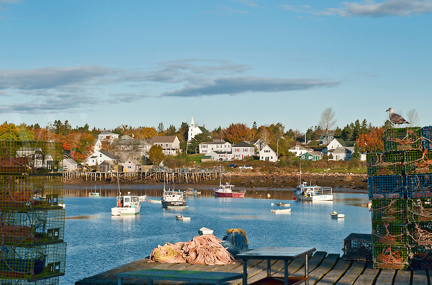 Corea Harbor, Maine, ME, USA