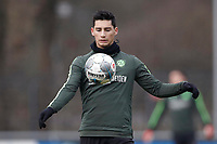 23rd January 2020, Hannover, Germany; Sebastian Soto during training  ; Soto, an American born player, has reportedly moved from Hannover to Norwich City of the English Premier league