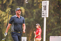 Adam Bland (AUS) departs the 18 tee during round 2 of the World Golf Championships, Mexico, Club De Golf Chapultepec, Mexico City, Mexico. 3/2/2018.<br /> Picture: Golffile | Ken Murray<br /> <br /> <br /> All photo usage must carry mandatory copyright credit (&copy; Golffile | Ken Murray)