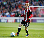 Mark Duffy of Sheffield Utd during the Championship League match at Bramall Lane Stadium, Sheffield. Picture date 19th August 2017. Picture credit should read: Simon Bellis/Sportimage