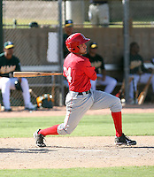 Jeremy Cruz - Los Angeles Angels - 2010 Instructional League.Photo by:  Bill Mitchell/Four Seam Images..