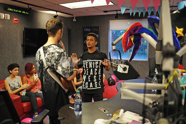 FORT LAUDERDALE, FL - JUNE 13: Jordan Fisher visits radio station Y-100 on June 13, 2016 in Fort Lauderdale, Florida. Credit: mpi04/MediaPunch