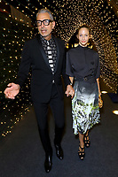 """ABC, DISNEY TV STUDIOS, FX, HULU, & NATIONAL GEOGRAPHIC 2019 EMMY AWARDS NOMINEE PARTY: Jeff Goldblum and Emilie Livingston attend the """"ABC, Disney TV Studios, FX, Hulu & National Geographic 2019 Emmy Awards Nominee Party"""" at Otium on September 22, 2019 in Los Angeles, California. (Photo by PictureGroup/Walt Disney Television)"""
