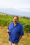 Brick House Vineyard and winery near Newberg, Oregon produces a variety of organic wines. owner Doug Tunnell
