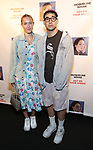 "Model Carlotta Kohl and Jack Antonoff attend the Off-Broadway Opening Night of ""Jacqueline Novak: Get On Your Knees"" at the Cherry Lane Theatre on July 22, 2019 in New York City."