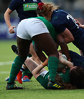 2nd February 2020; Energia Park, Dublin, Leinster, Ireland; International Womens Rugby, Six Nations, Ireland versus Scotland; Linda Djougang (Ireland) managed to get over the ball and steal it