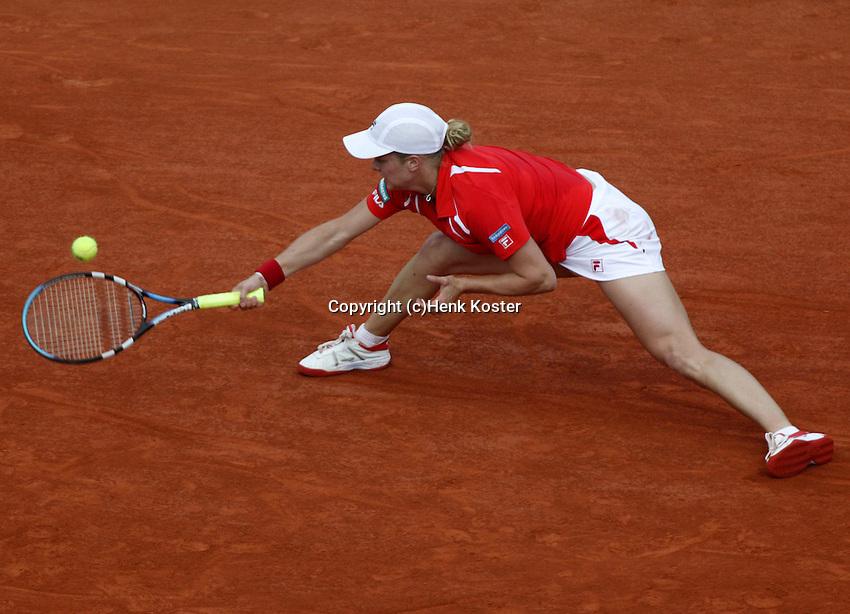 20030529, Paris, Tennis, Roland Garros, Kim Clijsters