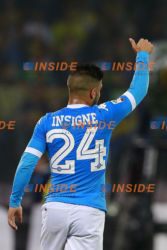 Lorenzo Insigne Napoli,  <br /> Napoli 14-05-2016 Stadio San Paolo<br /> Football Calcio Serie A 2015/2016 Napoli - Frosinone<br /> Foto Cesare Purini / Insidefoto