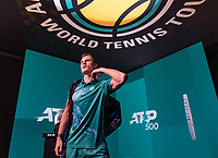 Rotterdam, The Netherlands, 14 Februari 2019, ABNAMRO World Tennis Tournament, Ahoy, Marton Fucsovics (HUN),<br /> Photo: www.tennisimages.com/Henk Koster
