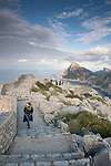 Creueta Viewpoint on Formentor in Majorca, Spain