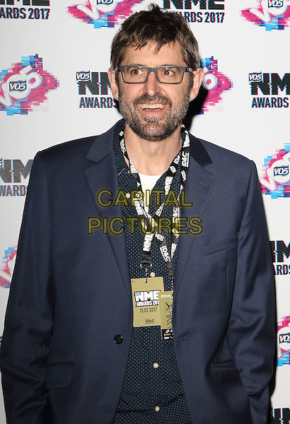 Louis Theroux at The VO5 NME Awards 2017 at the O2 Academy, Brixton, London on February 15th 2017<br /> CAP/ROS<br /> &copy;Steve Ross/Capital Pictures