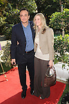 LOS ANGELES, CA. - November 07: Hank Azaria and Katie Wright arrive at the March of Dimes 4th Annual Celebration of Babies at the Four Seasons Hotel on November 7, 2009 in Los Angeles, California.