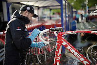'The big clean' after the last of the Spring Classics<br /> <br /> 102nd Liège-Bastogne-Liège 2016