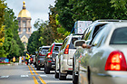 August 17, 2018; Move in day 2018 (Photo by Matt Cashore/University of Notre Dame)
