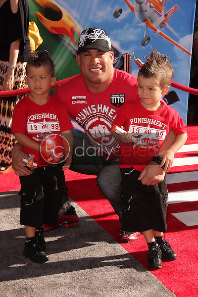 Tito Ortiz<br /> at the World Premiere Of Disney's Planes, El Capitan, Hollywood, CA 08-05-13<br /> David Edwards/DailyCeleb.Com 818-249-4998