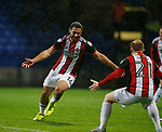 Cameron Carter-Vickers of Sheffield Utd celebrates scoring the first goal on his full debut during the Championship match at the Macron Stadium, Bolton. Picture date 12th September 2017. Picture credit should read: Simon Bellis/Sportimage