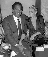 #OJSimpson #NicoleSimpson 1985<br /> Photo By Adam Scull/PHOTOlink.net