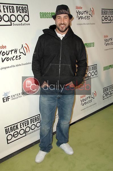Joey Fatone<br />at the 5th Annual Black Eyed Peas Peapod Foundation Benefit Concert. The Conga Room, Los Angeles, CA. 02-05-09<br />Dave Edwards/DailyCeleb.com 818-249-4998