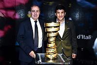 Mauro Venni-Richard Carapaz<br /> Milano 24-10-2019 <br /> Presentazione 103mo Giro d'Italia 2020 <br /> Photo Daniele Buffa / Insidefoto